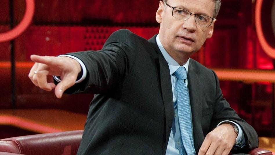 """Moderator Jauch: """"Holen Sie den Mann bitte zurück"""""""