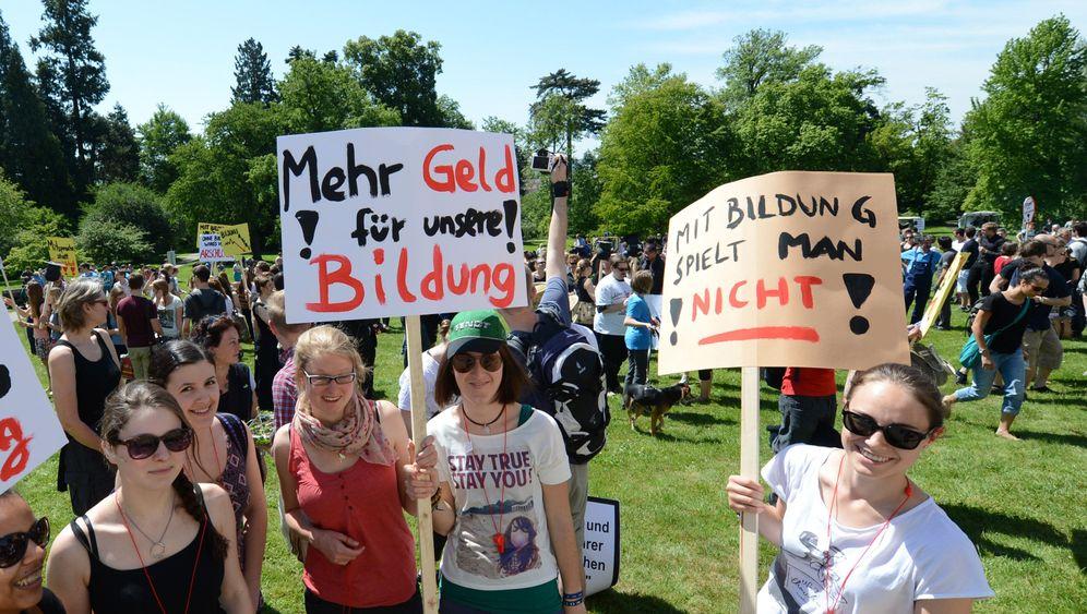"Studenten-Demos: ""Zu Tode gespart"""