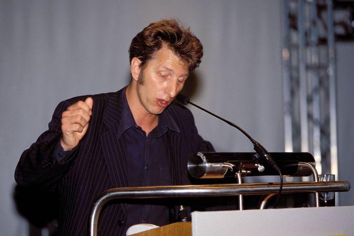 Rufus Beck liest Harry Potter - im Jahr 2001.