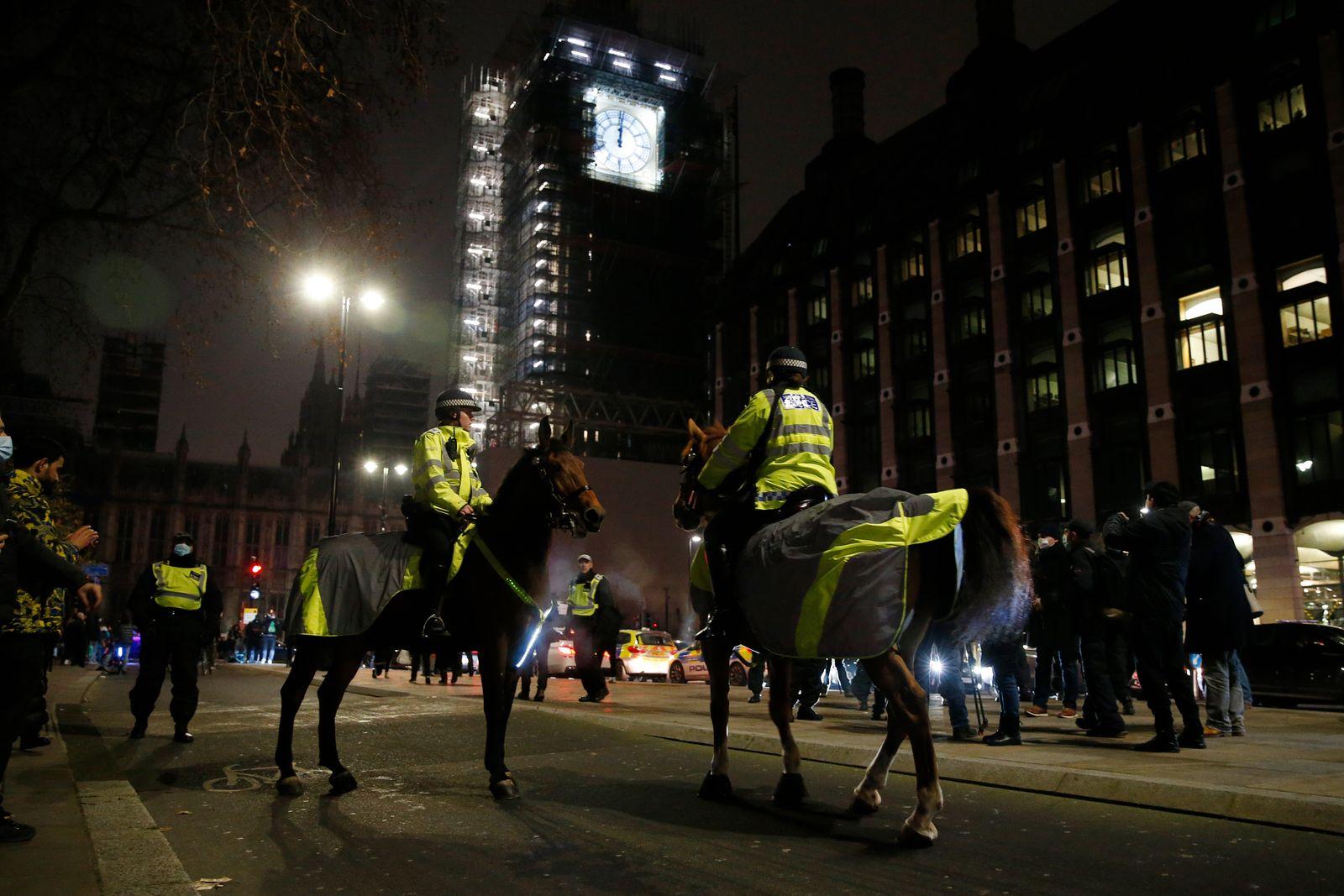 New Year's Eve In The UK During The Coronavirus Pandemic