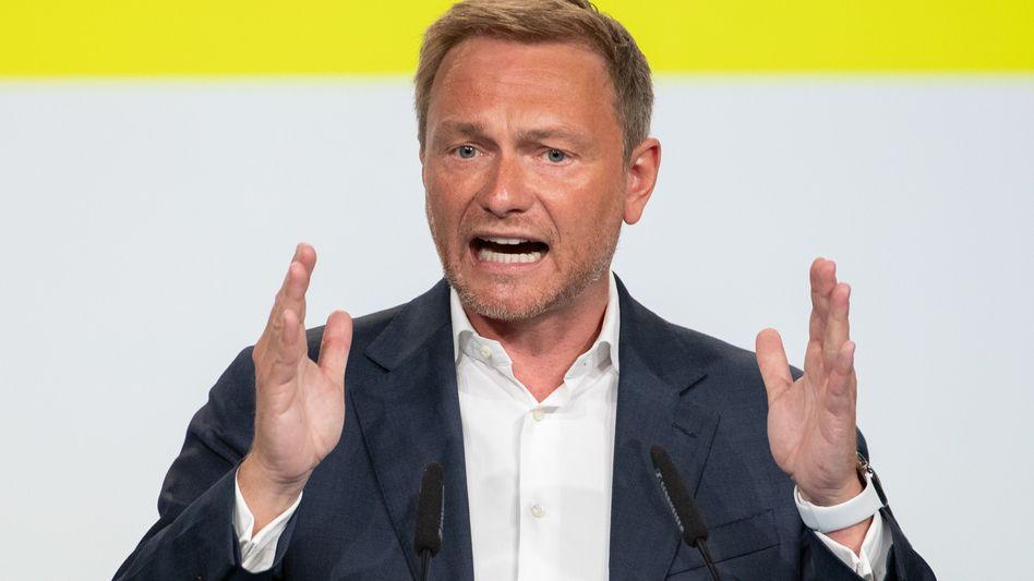 Christian Lindner: FDP-Chef fordert sachliche Auseinandersetzung mit Klimaaktivisten