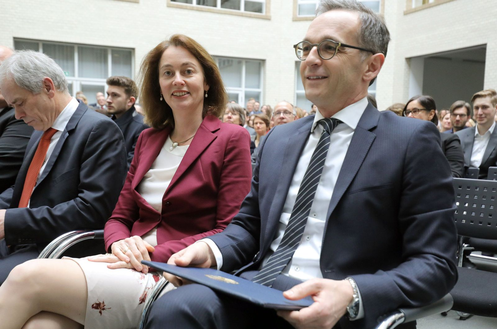 Amtsübergabe Minister Barley / Maas