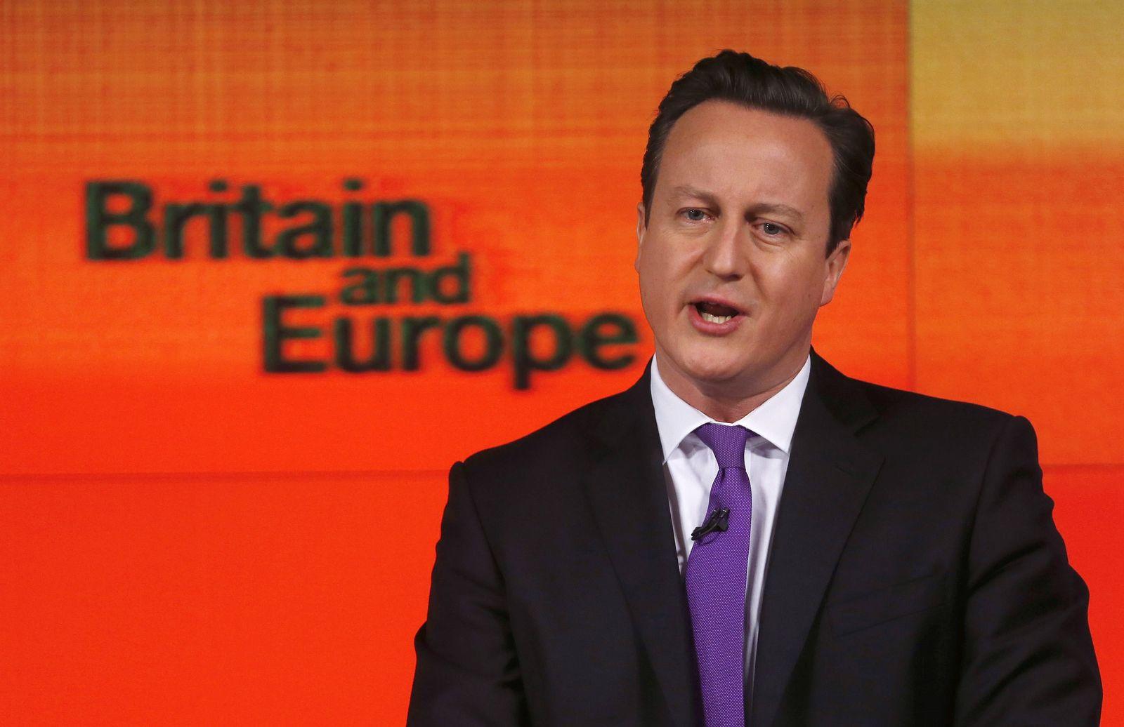 Brexit/ 2013/ David Cameron