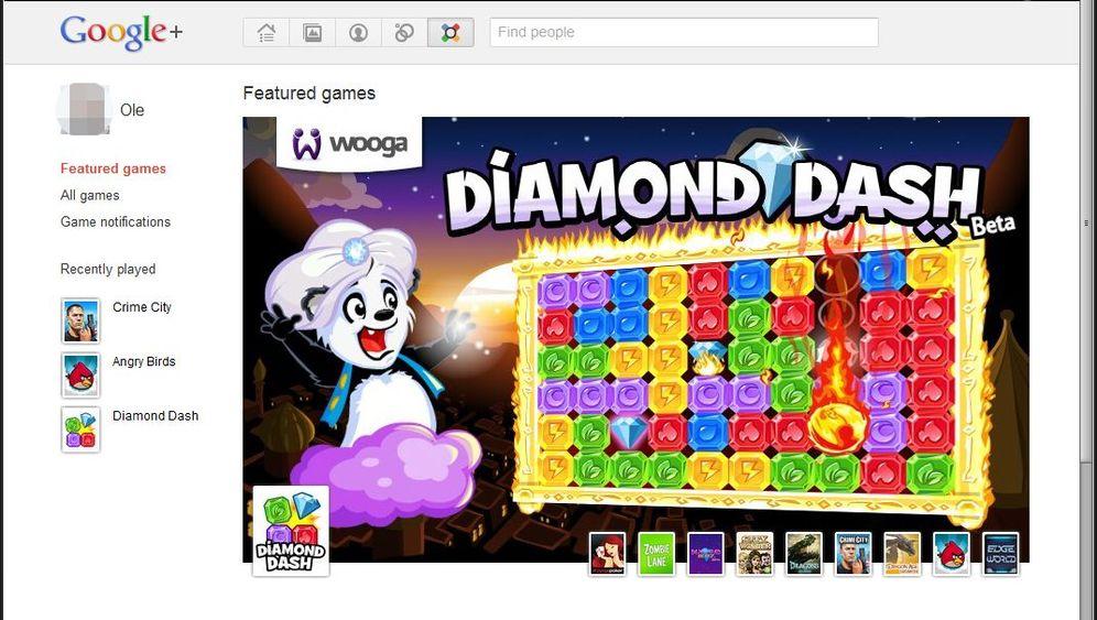 Browser-Spiele: Google+ bekommt Games