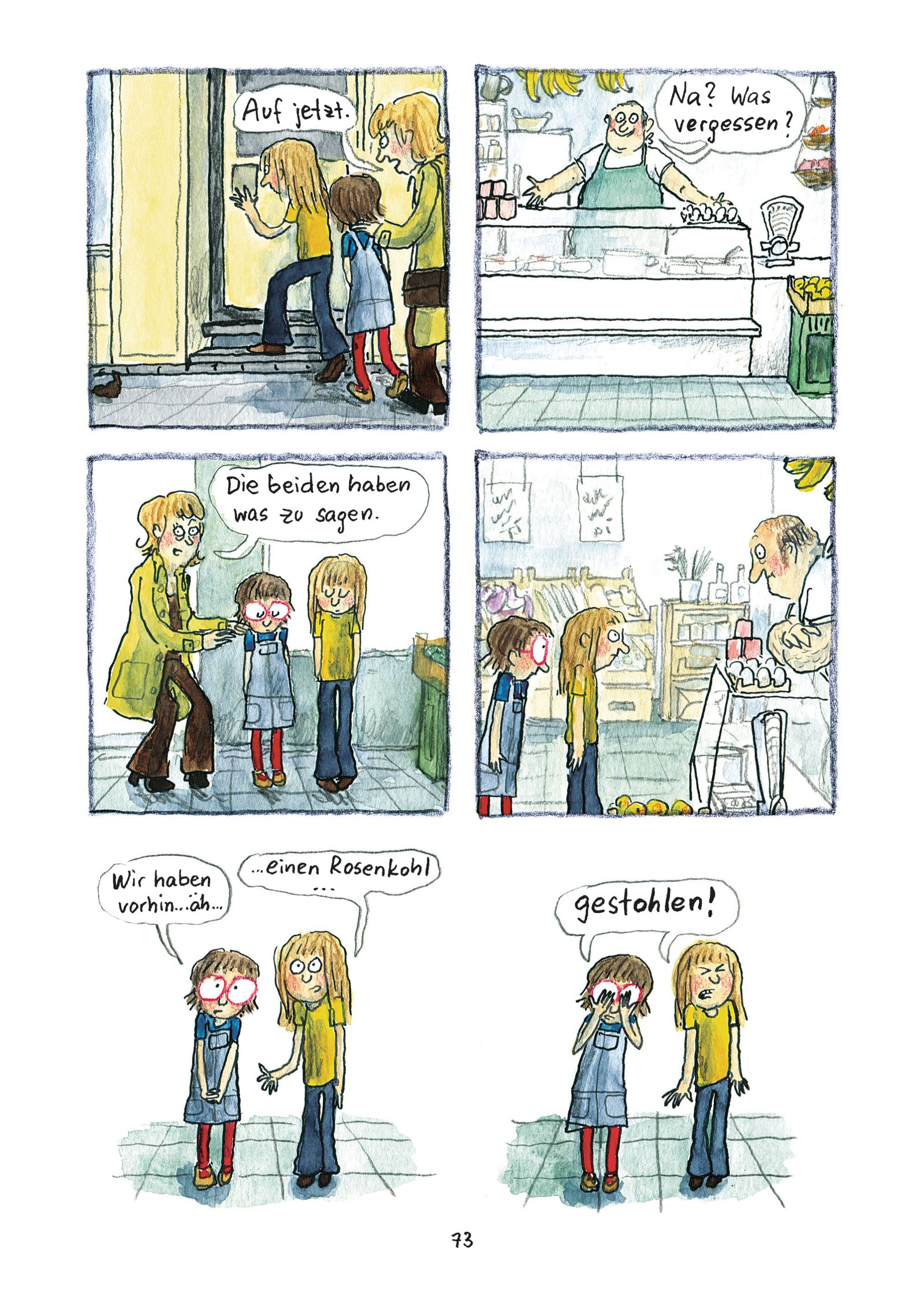 Kinderbücher/ Anke Kuhl: Manno! Alles genau so passiert
