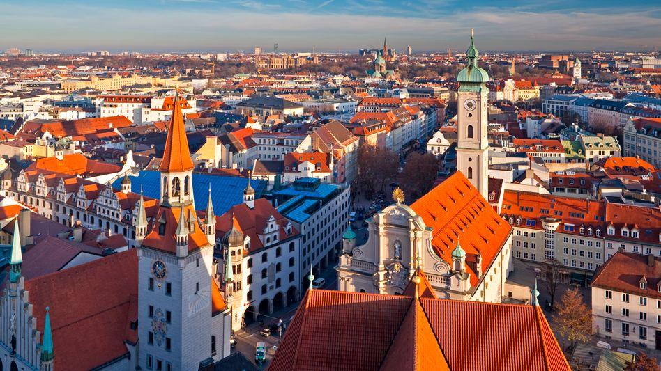 Bayerische Landeshauptstadt München (Archivbild): Teuerstes Pflaster Deutschlands