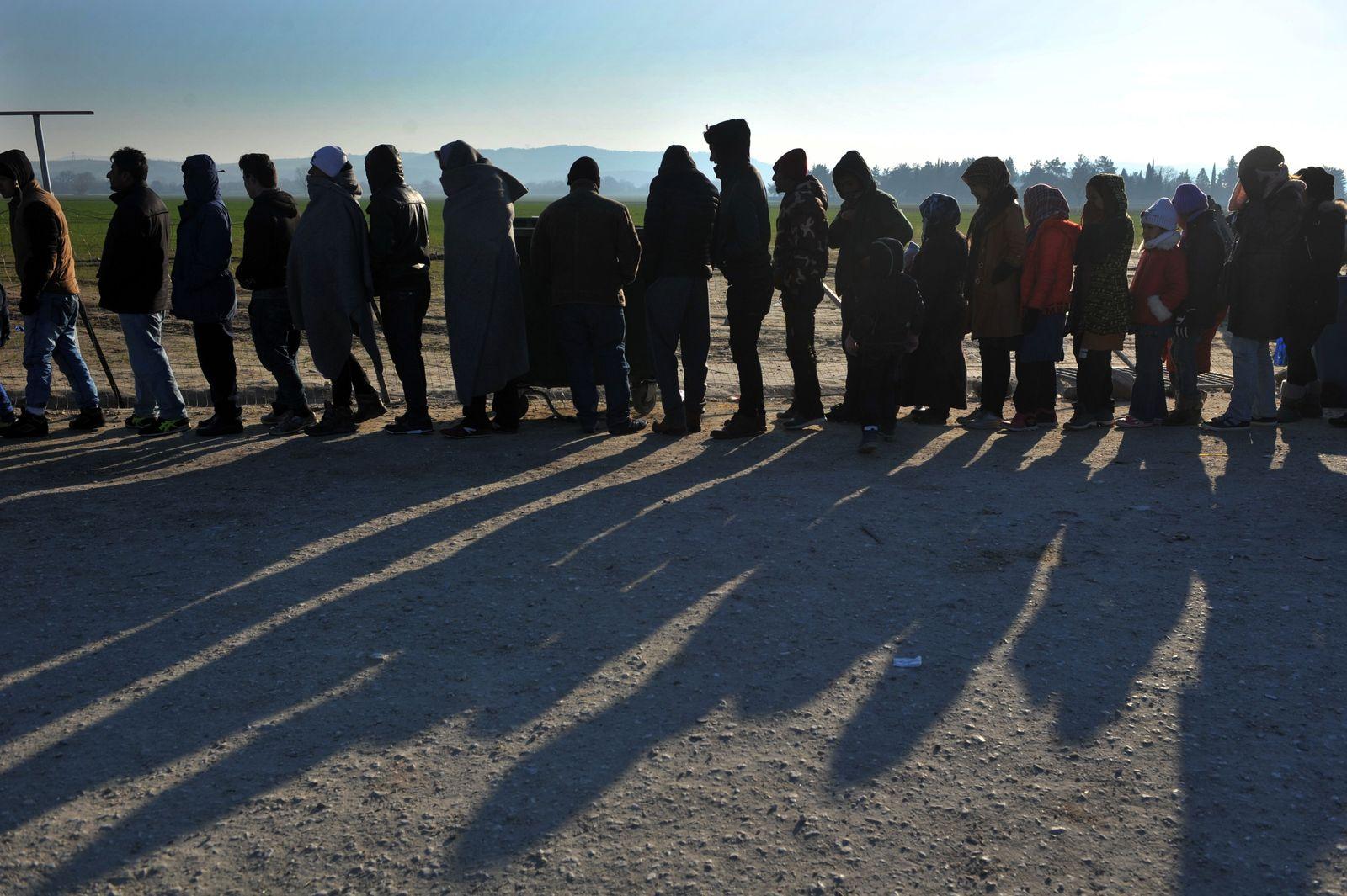 Flüchtlinge/ viele Menschen