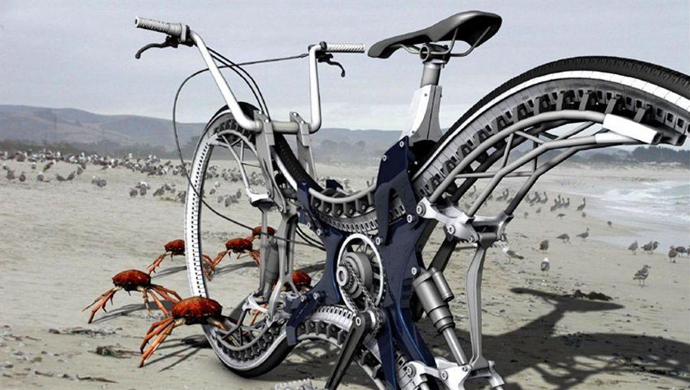 Fahrrad-Design: Shoppen, Falten, Retten