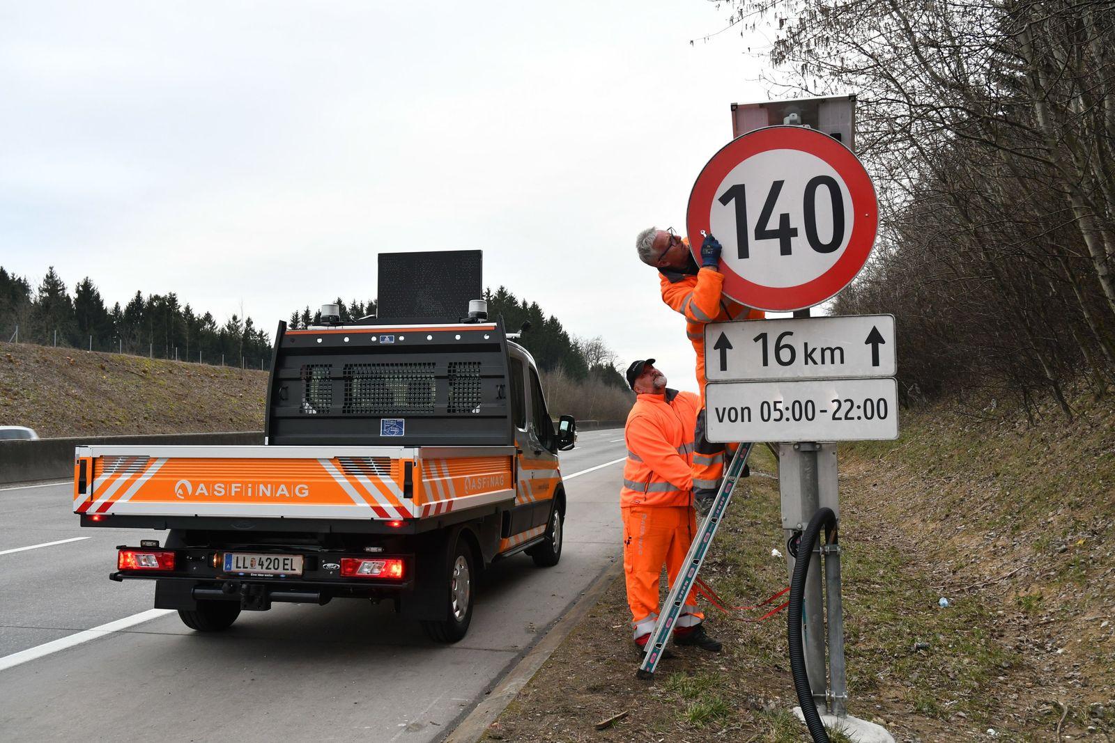 Österreich beendet Test mit Tempo 140 auf Autobahnen