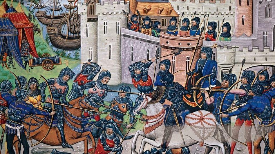 Brest, 1342: Während des Hundertjährigen Krieges siegten die Engländer in einer Seeschlacht vor Brest gegen die französische Partei.