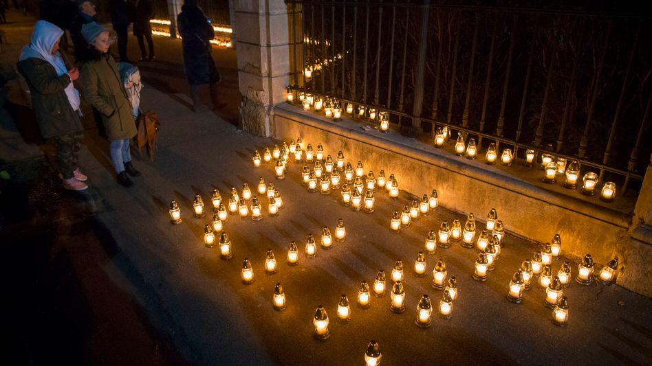 Proteste in Gedenken an Ján Kuciak