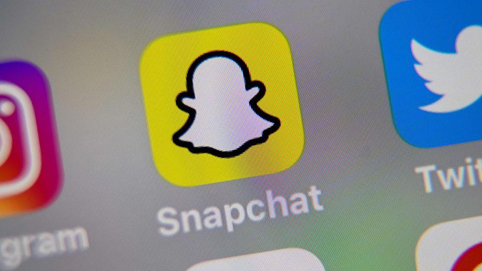 Snapchat auf dem Handy: Donald Trump zählt bei der Foto-App 1,5 Millionen Follower