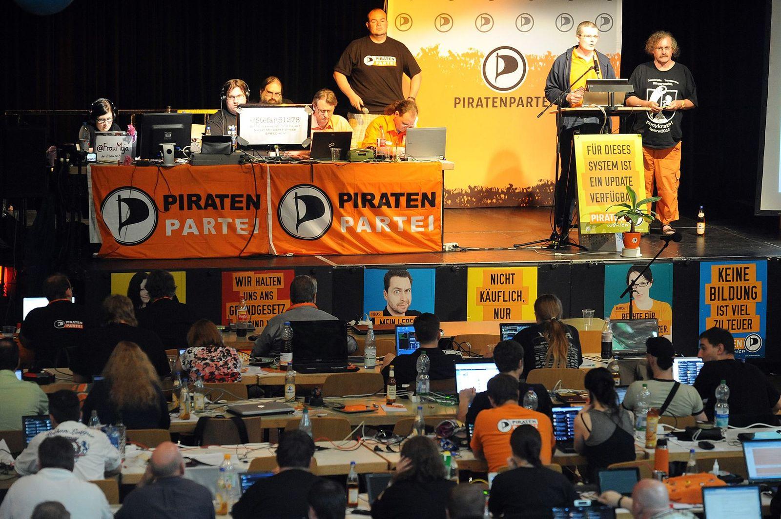NICHT VERWENDEN Piratenpartei / Abstimmung