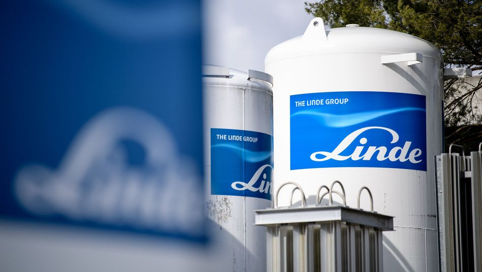 Gasbehälter von Linde