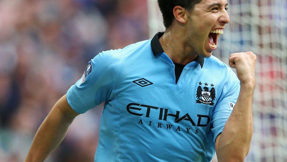 Manchester-Profi Nasri: Torschütze im Pokal-Halbfinale gegen Chelsea