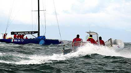 Zuviel Wind: Pause in Auckland