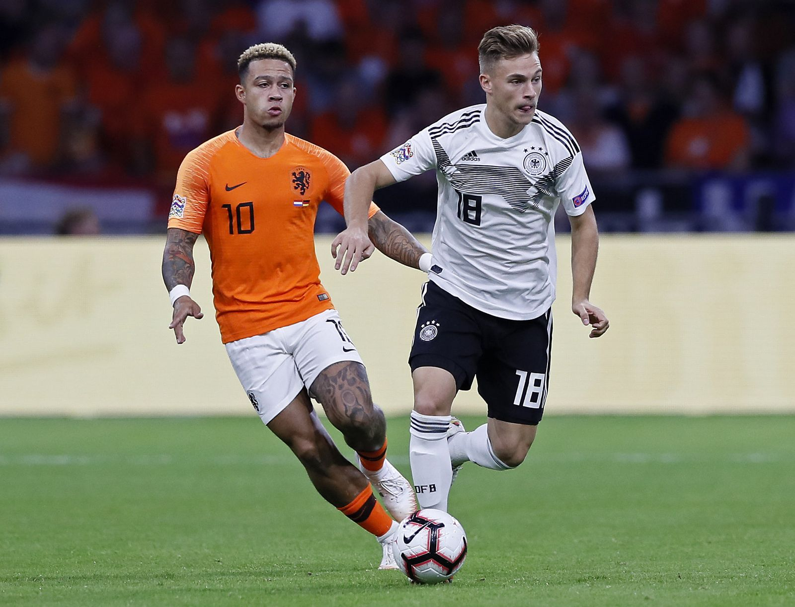 Netherlands Germany Nations League Soccer