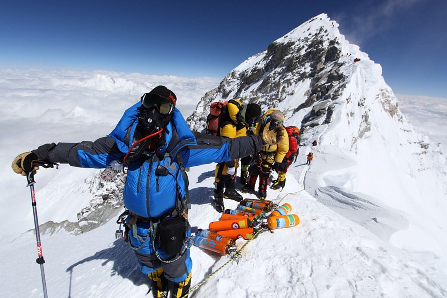 Bergsteiger Mount Everest