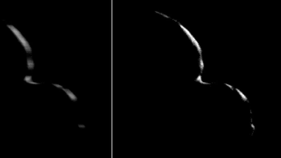 """""""New Horizons"""" Blick zurück auf den Himmelskörper """"2014 MU69"""""""