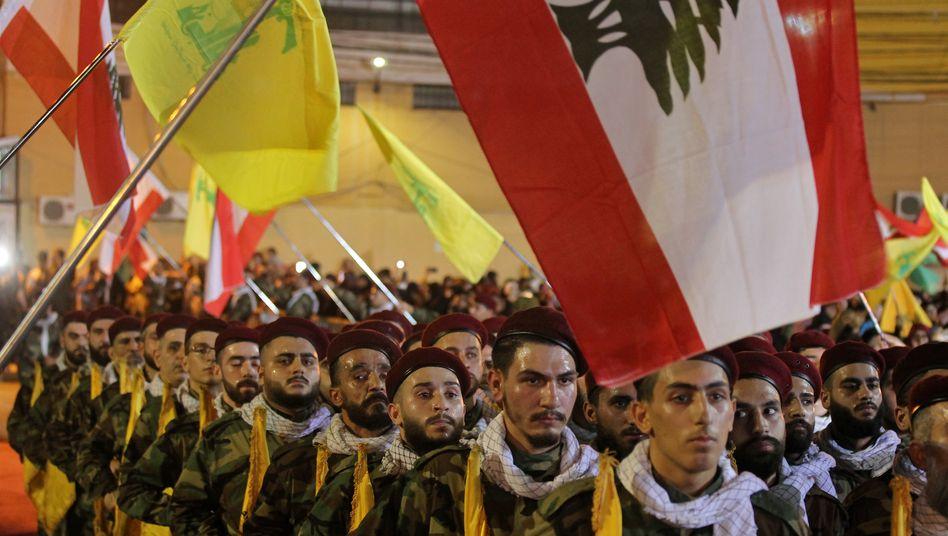 Hisbollah-Kämpfer im Libanon (Foto vom Mai 2019)
