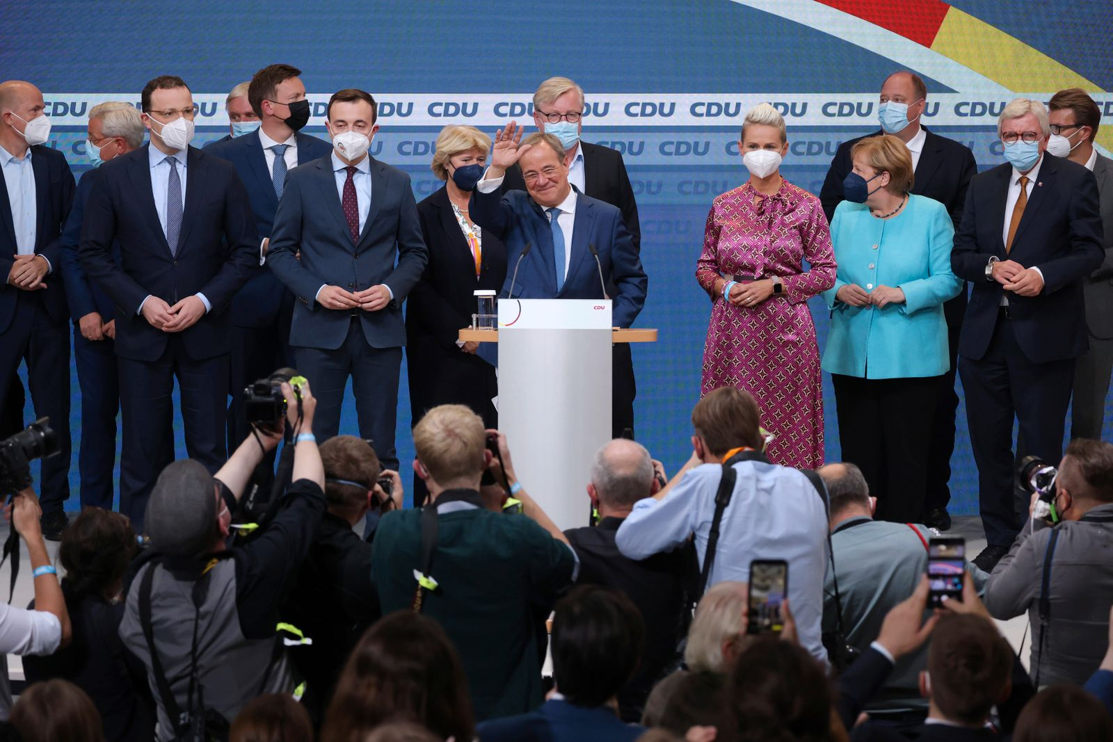 Christian Democrats (CDU) React To Election Results