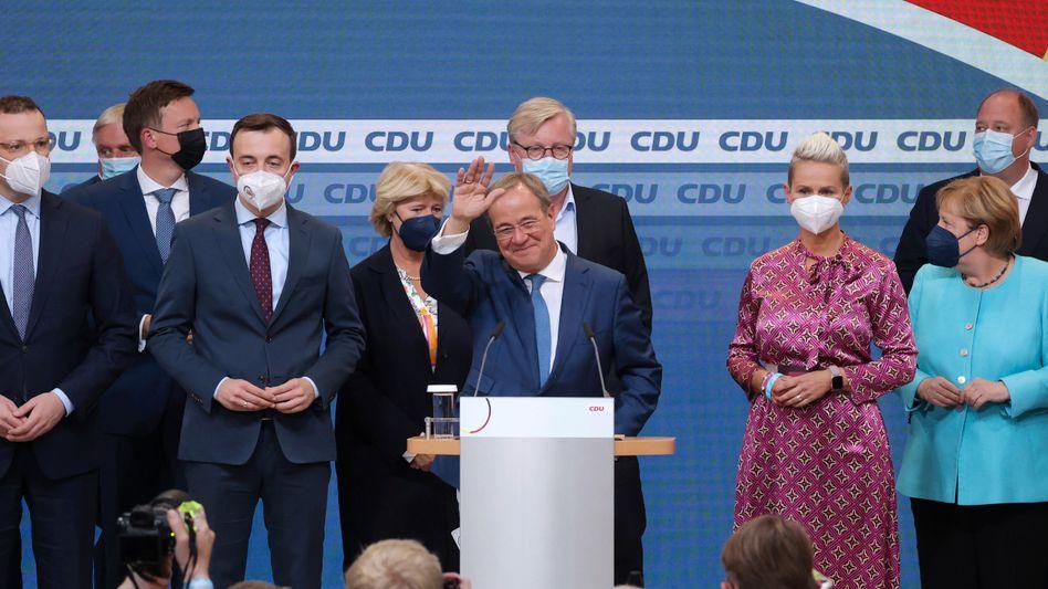 CDU-Chef und Unions-Kanzlerkandidat Armin Laschet