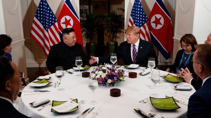 Trump trifft Kim: Dicke mit dem Diktator