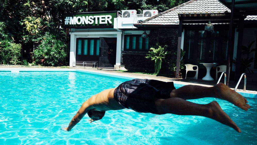 Ausgewandert nach Thailand: Mittagspause im Pool