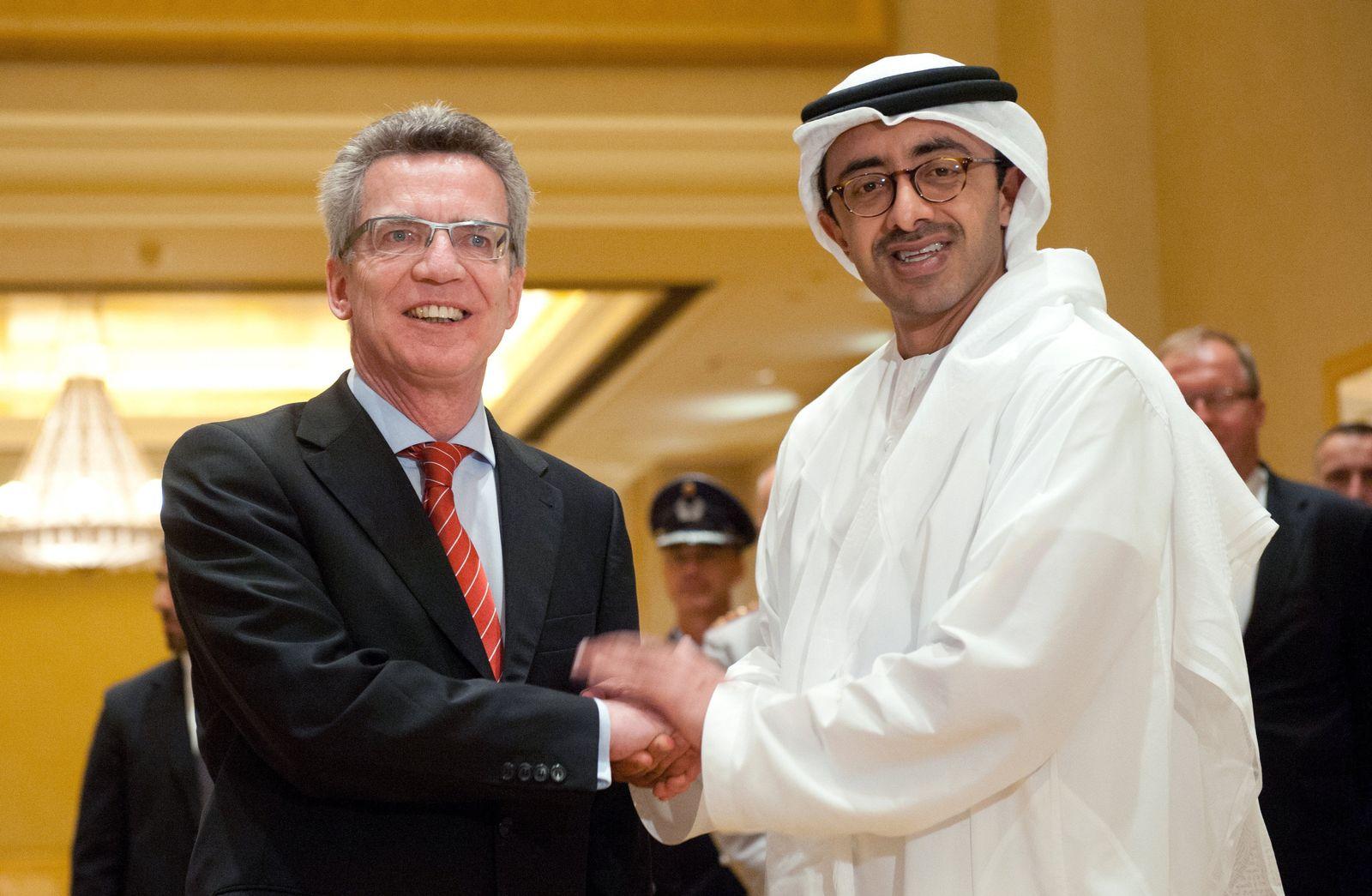 de Maiziere / Abu Dhabi