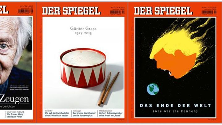 Titelbilder: SPIEGEL-Titel - die besten Cover des siebten Jahrzehnts