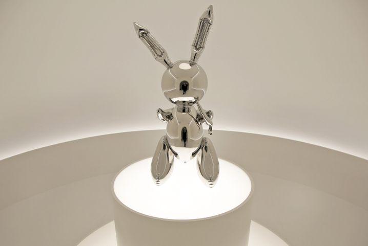 """""""Rabbit"""" im Auktionshaus Christie's"""