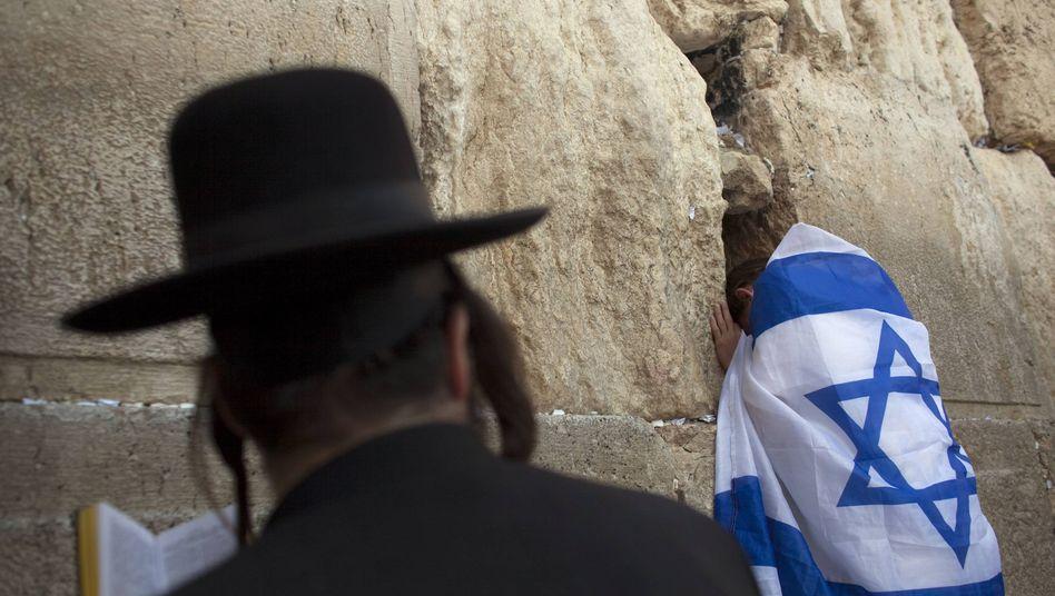 Orthodoxer Jude in Jerusalem (Archivbild): Kein Eintrag als Israeli