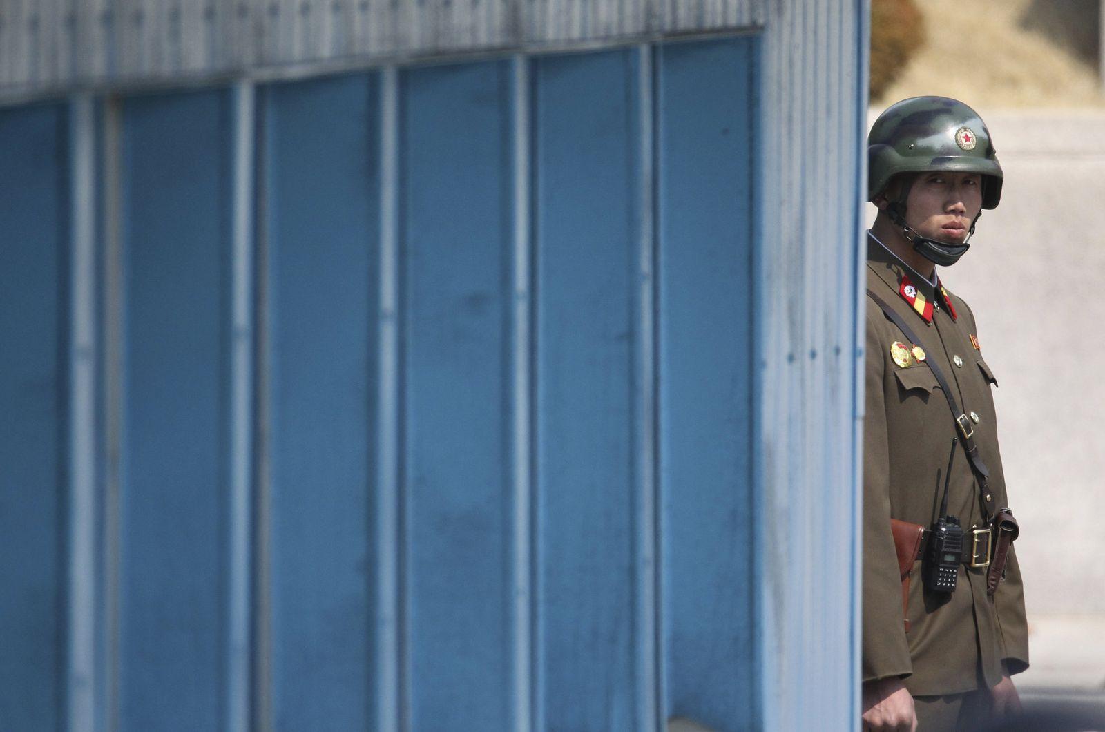 Nordkorea Soldat