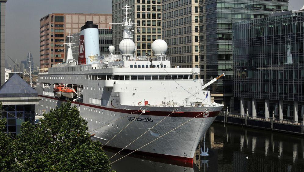 """""""Deutschland"""" in London: """"Traumschiff"""" ist deutsches Olympiaschiff"""