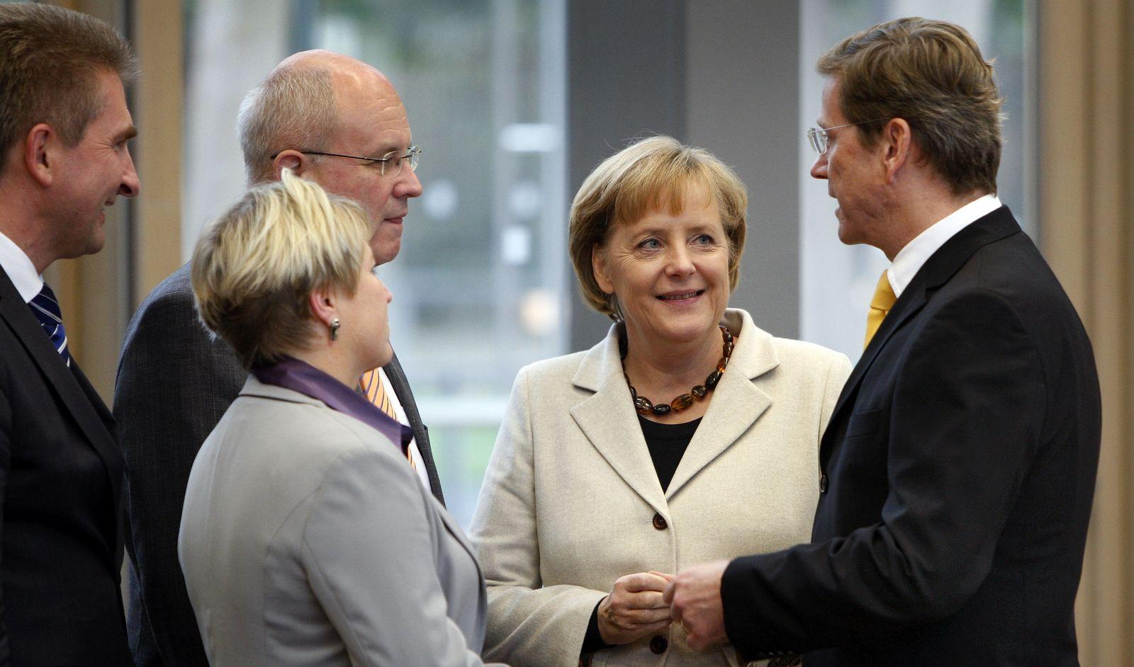 Merkel schwarz-gelb