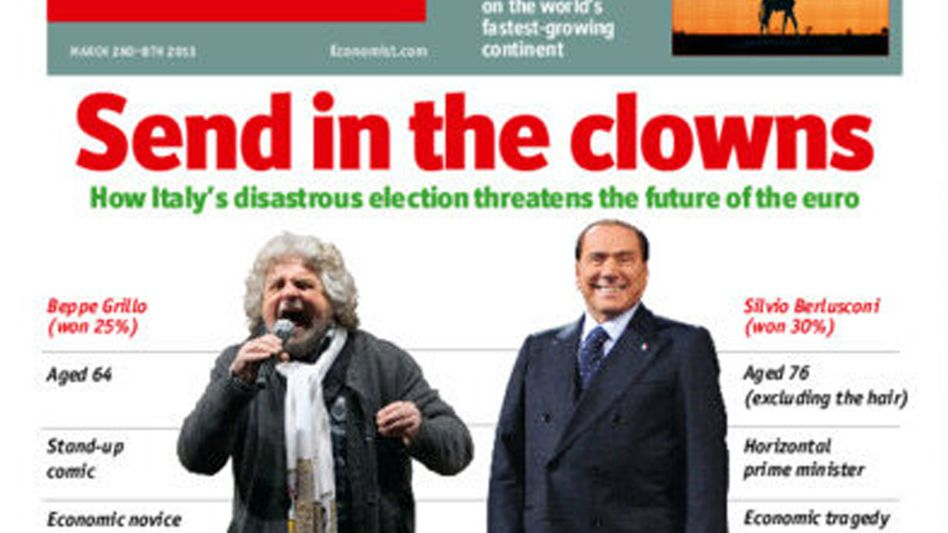 Aktuelles Economist-Cover: Debatte um Steinbrück-Äußerungen geht weiter