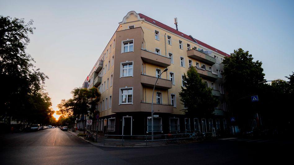 Betroffene Wohneinheit im Berliner Stadtteil Neukölln