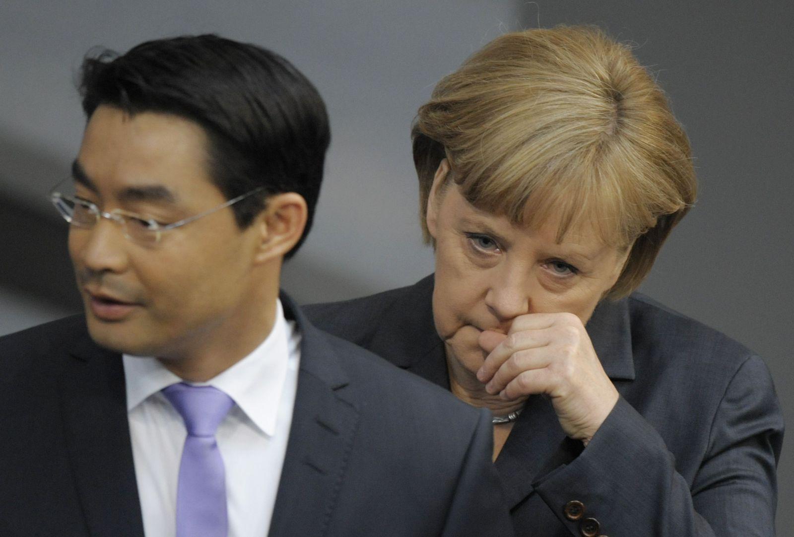 NICHT VERWENDEN Rösler/ Merkel
