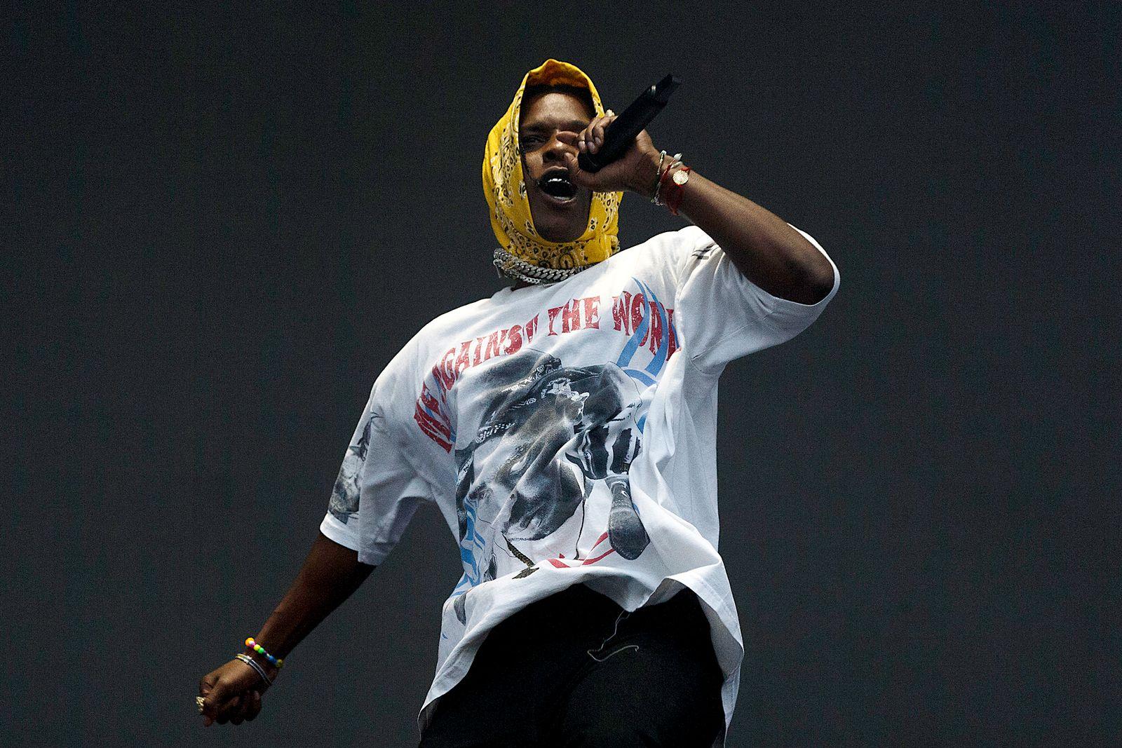 EINMALIGE VERWENDUNG A$AP Rocky