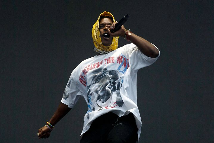 US-Rapper A$AP Rocky im Juni 2019 in Vancouver, Canada
