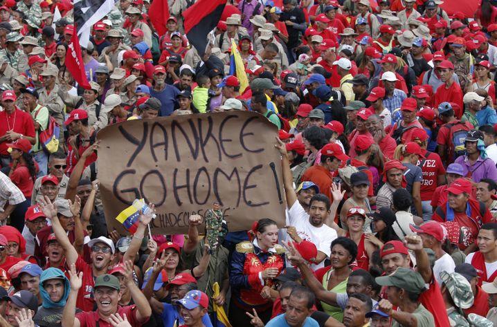 Maduro-Anhänger