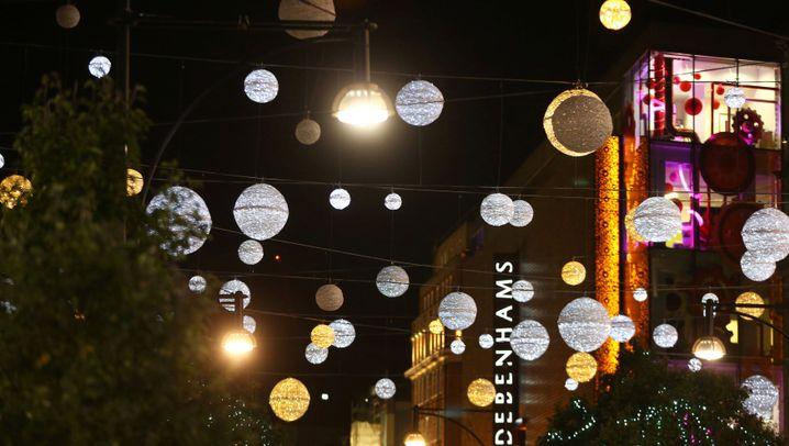 Von London bis Paris: Shoppen unter Lichterketten