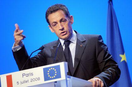 A setback in French President Nicolas Sarkozy's plans to tighten European immigration policies
