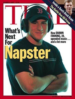 Napster-Gründer Fanning: Hat inzwischen das dritte Unternehmen gegründet