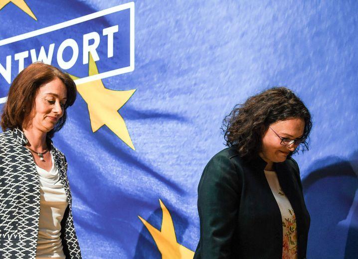 Es geht immer noch tiefer: Schlechte Stimmung bei der SPD