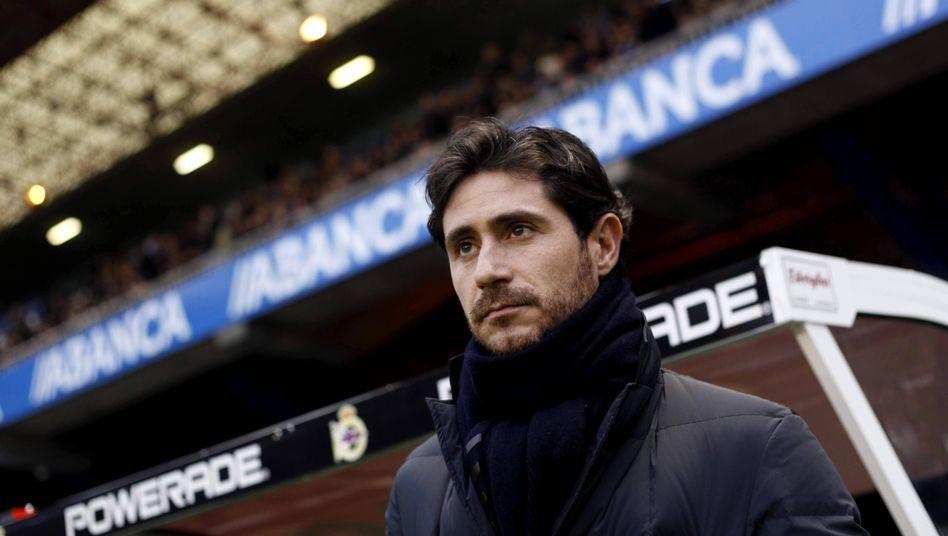 Víctor Sánchez war bis vor Kurzem Trainer des FC Málaga