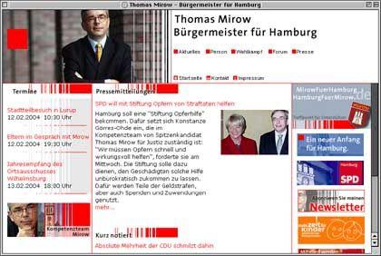 Mirow-Hompage: Ein Bürgermeister, der etwas von Familie versteht