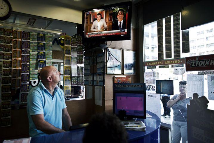 Opap-Filiale in Athen: Der Wettanbieter wurde teilweise privatisiert