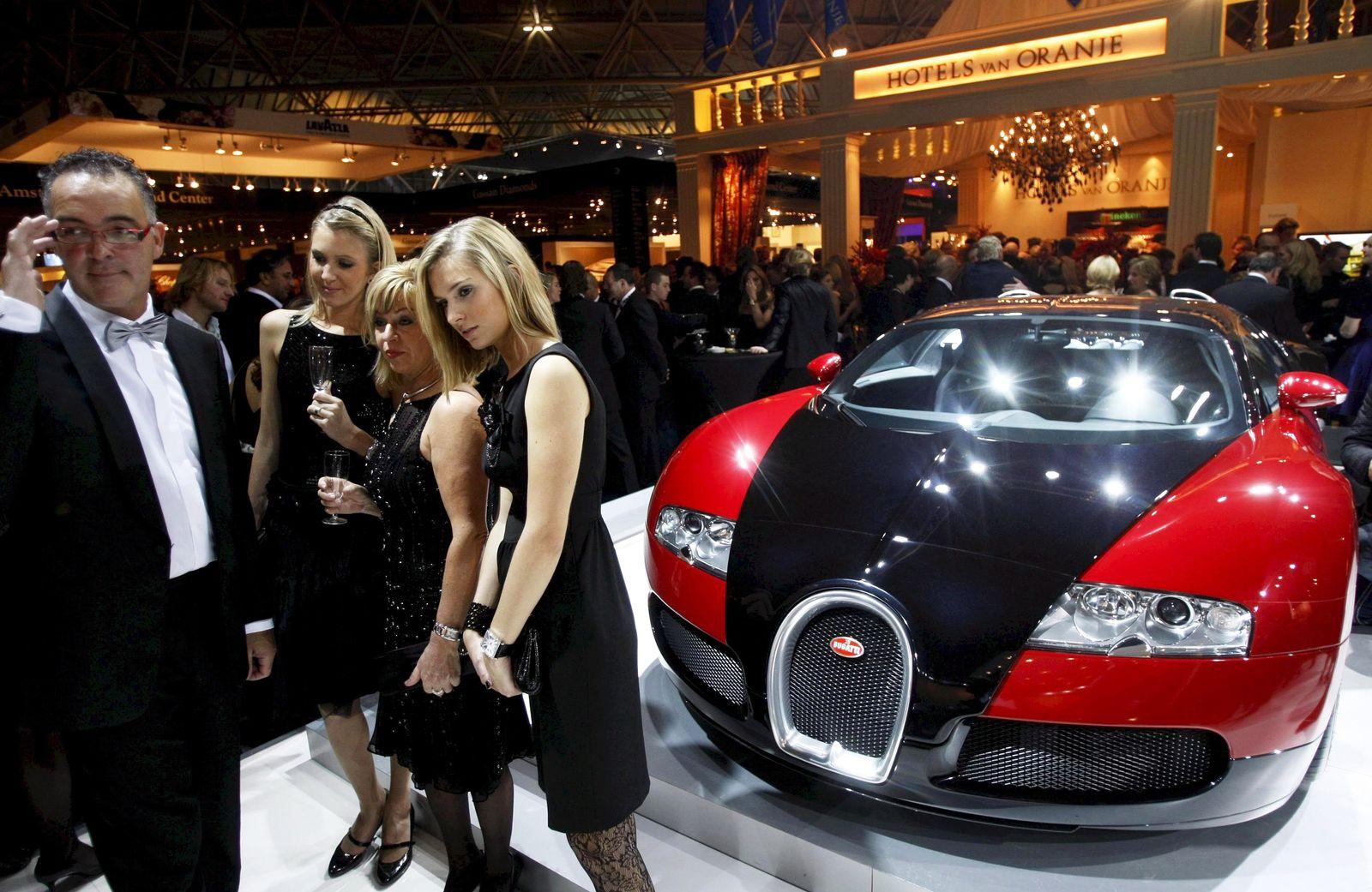 Millionäre / Superreiche / Reich / Luxus / Vermögen Millionärsmesse
