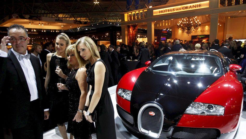 Reichenmesse Miljonair Fair in Amsterdam (Archiv): Sonderabteilungen in Finanzämtern gefordert